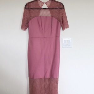 TOP SHOP mauve dress NWT